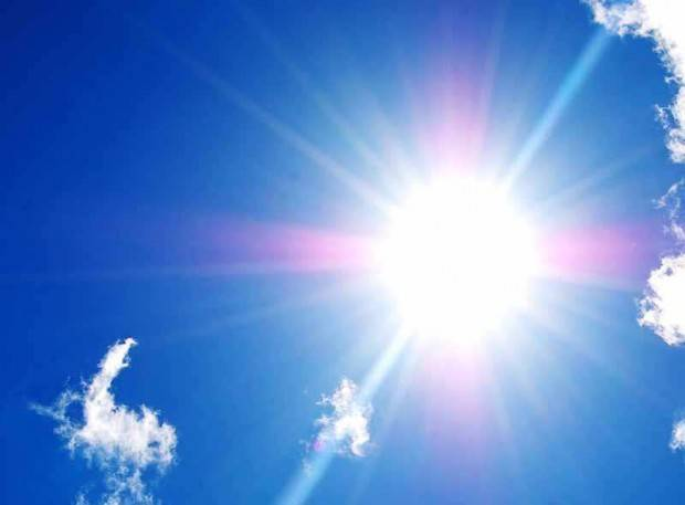Sole e caldo record in Italia