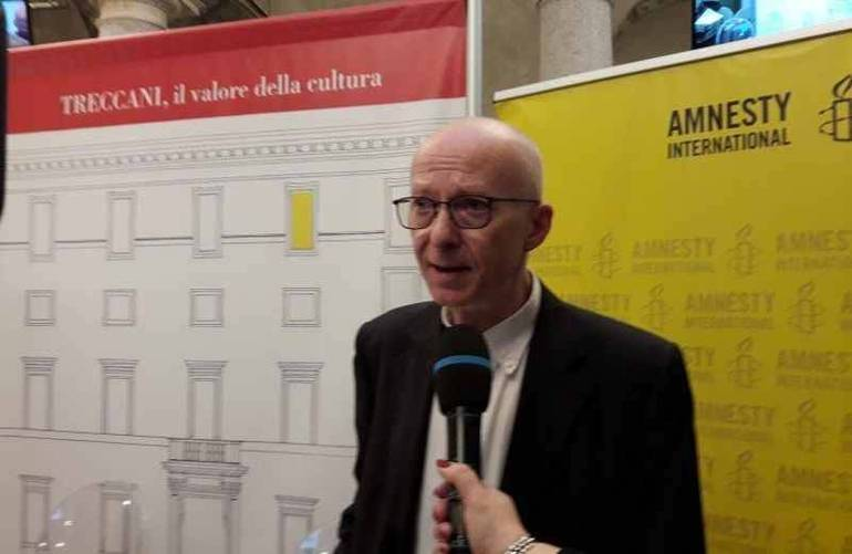 Antonio Marchesi, presidente di Amnesty international Italia (Foto Sir)