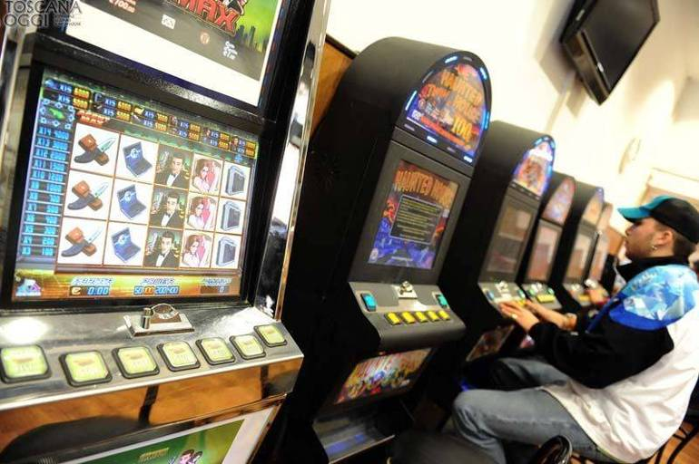 Gioco d'azzardo alle slot machine