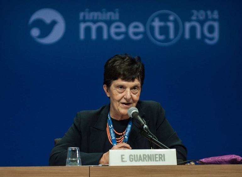 Emilia Guarnieri, presidente del Meeting di Rimini (Foto Sir)