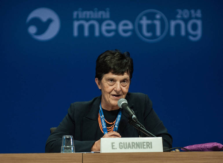 Emilia Guarnieri, presidente Fondazione Meeting (Foto Sir)