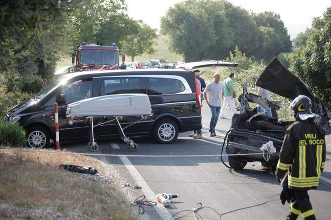 Incidente stradale (Foto Sir)