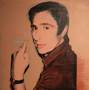 B1_Andy Warhol_ Portrit of Giuliano Gori_1974