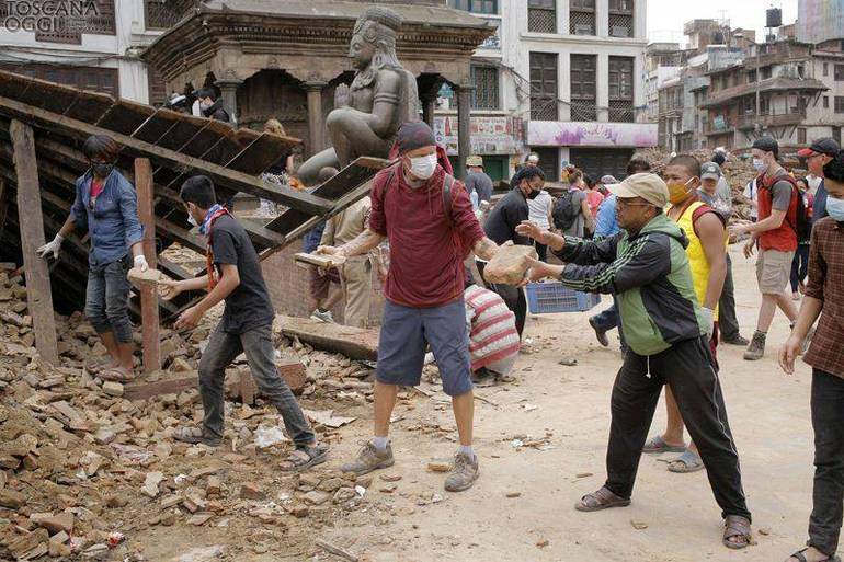Terremoto in Nepal (Foto Sir)