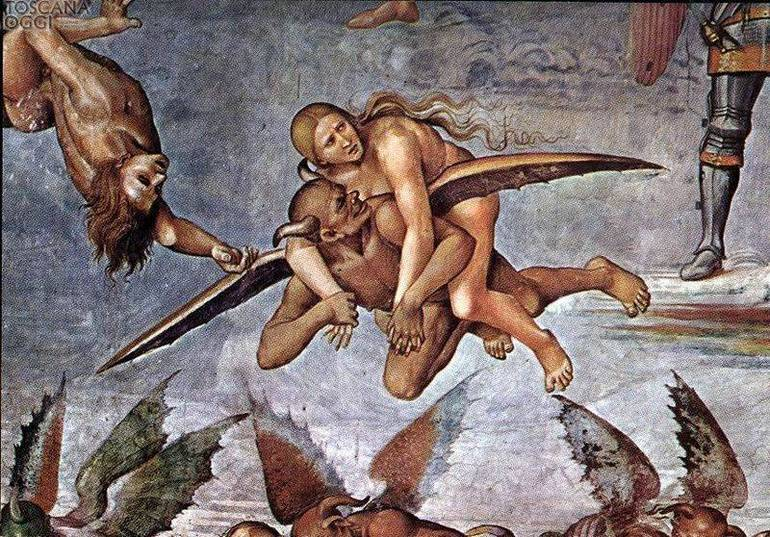 Luca Signorelli, dannati all'Inferno