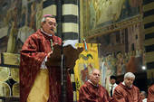 Mons. Agostinelli nel pontificale in cattedrale