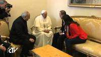 Incontro in Vaticano tra Papa Francesco e Ban Ki-moon