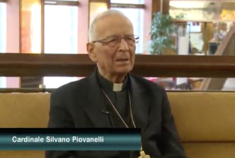 L'ultima intervista video del cardinale Piovanelli
