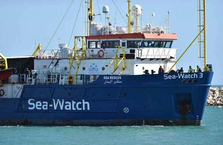 La nave Sea Watch (Foto Sir)