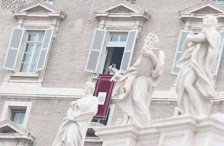 Papa Francesco, Angelus (Foto Sir)