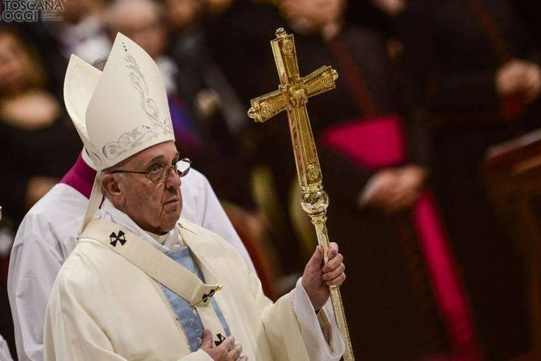 Papa Francesco, Messa in San Pietro (Foto Sir)